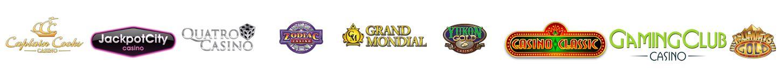casino sites logos