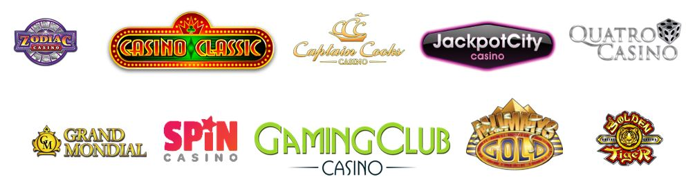 casinos en ligne logos