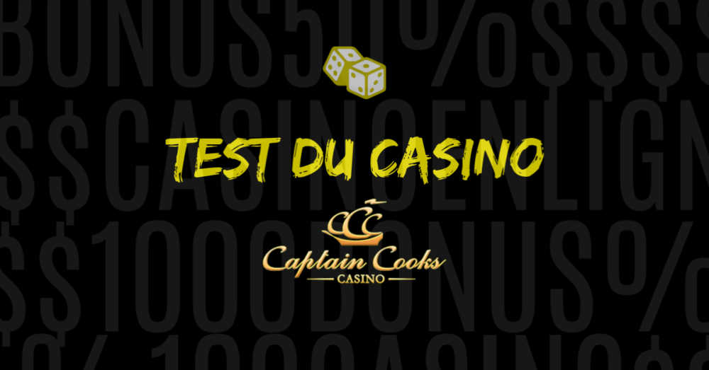 test du casino en ligne captain cooks avis et commentaires